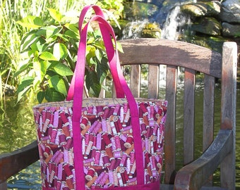 Instant Download - PDF Sewing Pattern - Tote Bag