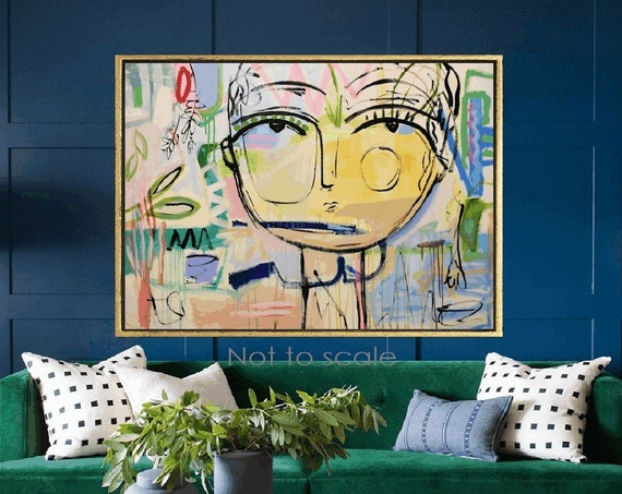 you understand me abstract painting by Jolina Anthony