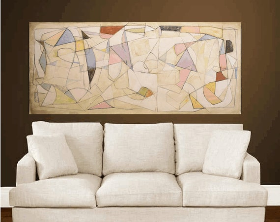 wall Art painting cubism abstract painting,, oil painting ,, large abstract painting,  Acrylic painting  ,original painting