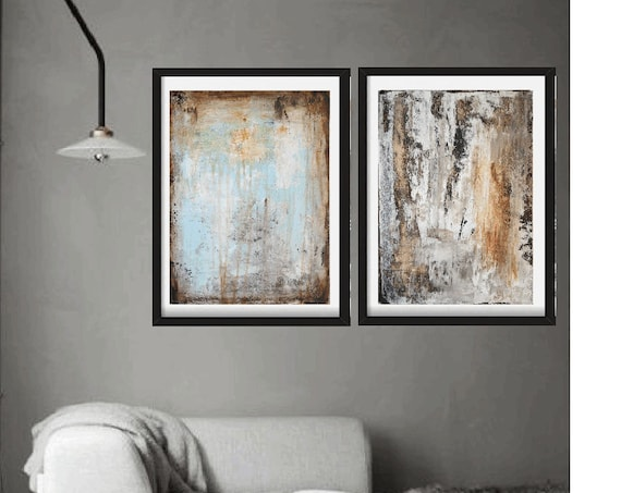 Art painting   set of two abstract  painting  nice acrylic painting from jolina anthony
