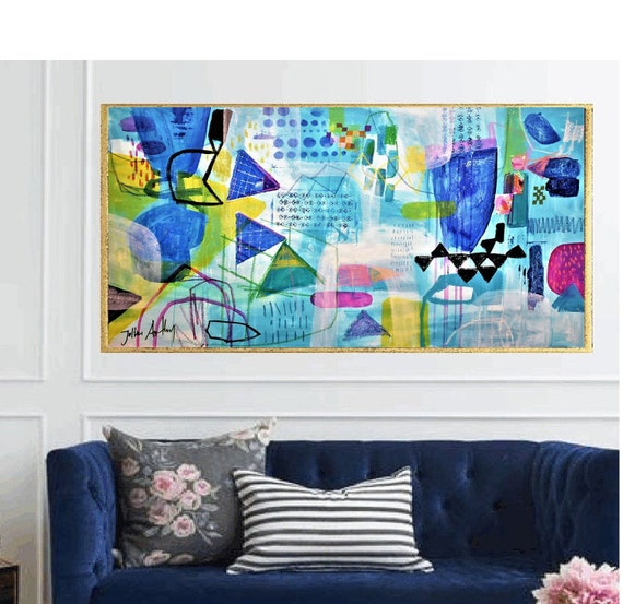 abstract Art nice   abstract painting, colorful  by Jolina Anthony