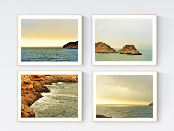 Mallorca art print  nice  photography sea large art print   by Jolina Anthony
