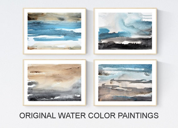 Abstract Art water color abstract painting nice wall art by Jolina Anthony