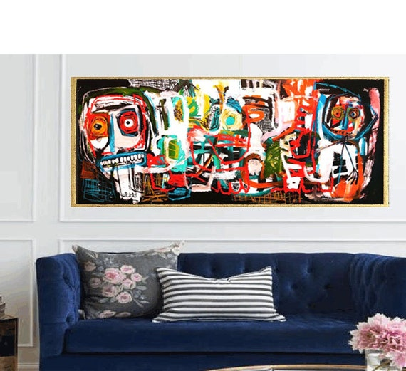 abstract Art nice   abstract painting, Art Print  by Jolina Anthony