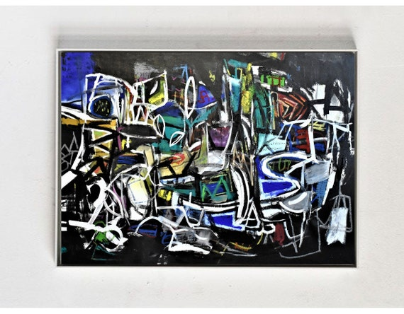 Expressionismus   abstract painting by Jolina Anthony