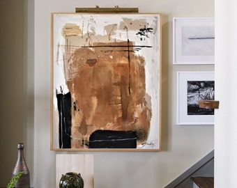 paint with coffee   abstract painting by jolina anthony wall decornice   oil painting