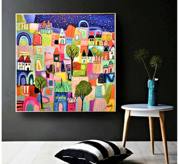 abstract painting colorful   by Jolina Anthony