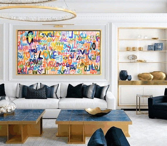 reserved listing for a client  abstract painting by Jolina Anthony