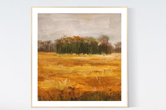 Landscape  abstract painting    by Jolina Anthony