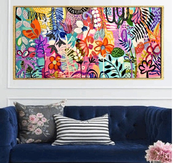 original   abstract  painting  very nice  painting by Jolina Anthony