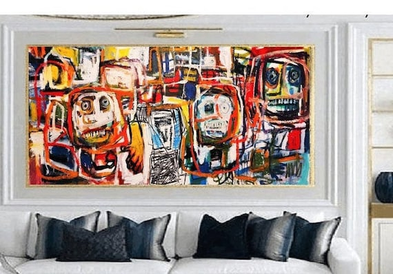 "60""x30""abstract Art nice   abstract painting,  by Jolina Anthony"