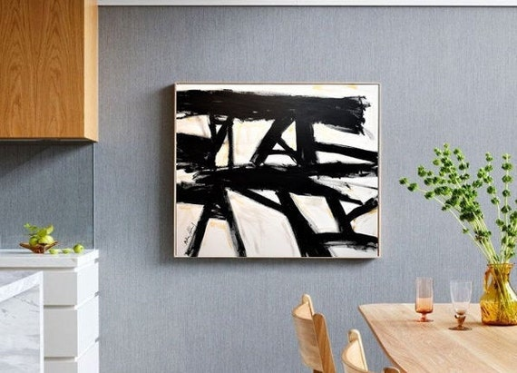 abstract painting  Mathias Anthony   original painting  by Jolina Anthony