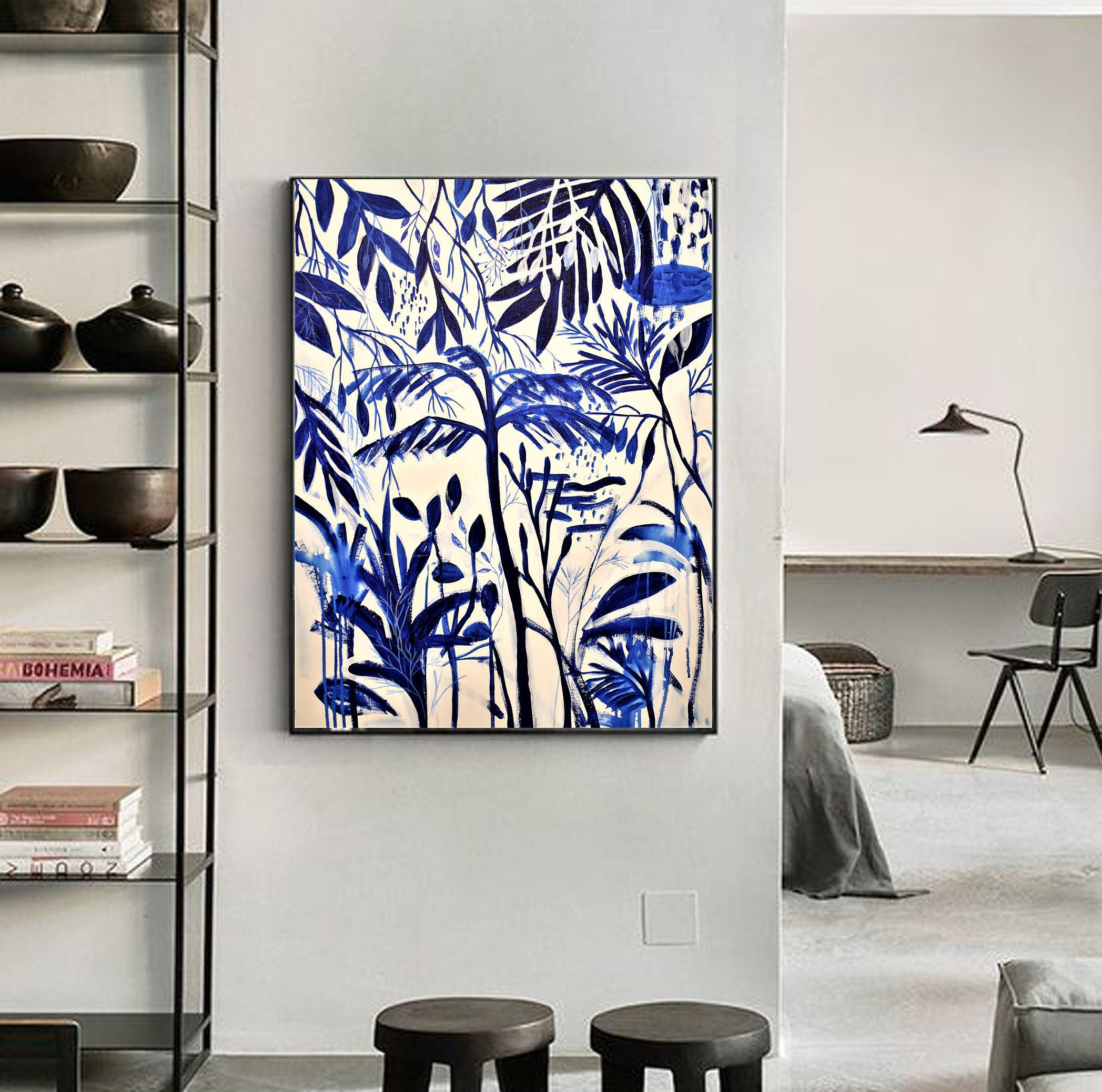 Tropic Garden Abstract Painting Nice Painting By Jolina Anthony