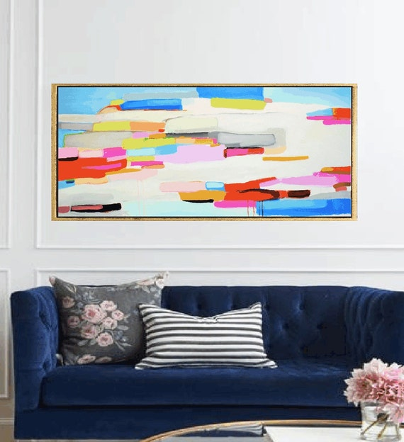 colorful  abstract painting  artist jolina