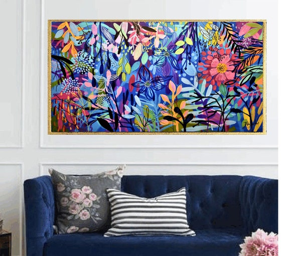 abstract Art nice   abstract painting,colorful  by Jolina Anthony
