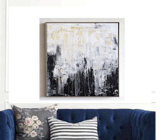 blue  abstract painting   colorful acrylic painting nicemixed media  painting wall art by jolina anthony