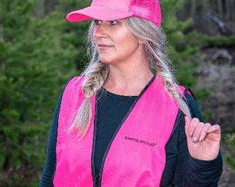 Blaze Pink Hunting Vest