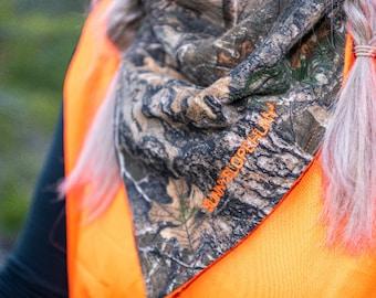 Blaze Orange Hunting Face Warmer