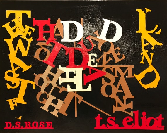 The Waste Land Ts Eliot Paper Cut Art