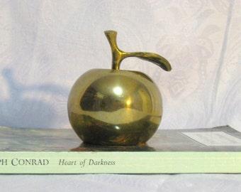 Brass Apple Bell