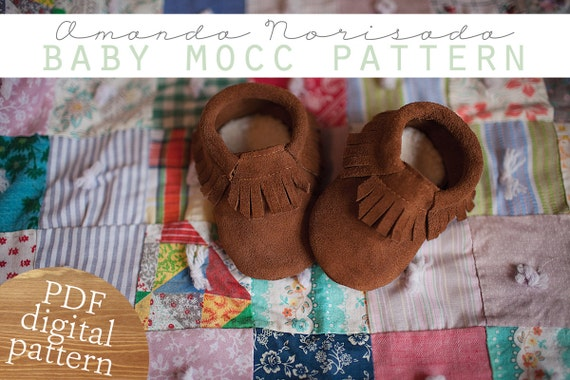 Baby Toddler Moccasin Sewing Pattern Pdf Instant Download Etsy