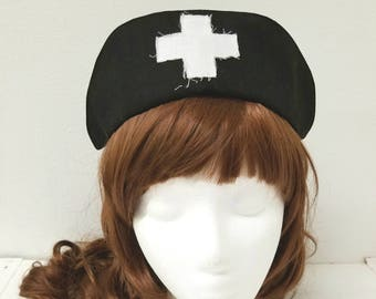 Dream Nurse Cap Vintage Look Menhera Hat