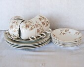 Antique Johnson Bros.England Dinnerware 17 Pieces Replacement(s).
