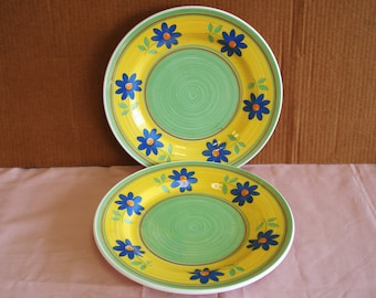 HOME Italy Two Dinner Plates.