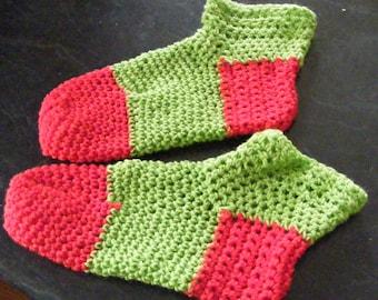 Crochet bed socks made to order
