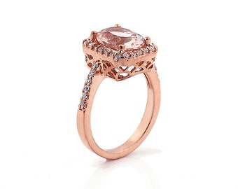 Morganite Rings (Hot)