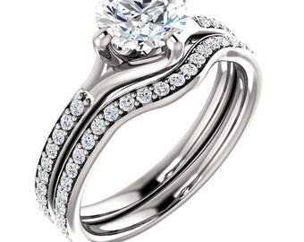 <> Moissanite Rings(New)