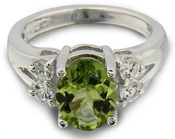 <> Peridot Rings