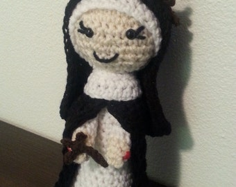 St. Catherine of Siena  , catholic saint doll, Catholic doll