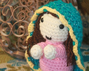 lady of guadalupe doll