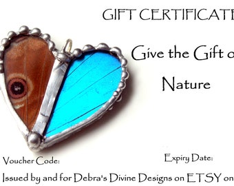 25 Gift Certificate, Gift Card, Email Gift