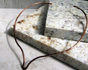Copper V Torc Necklace