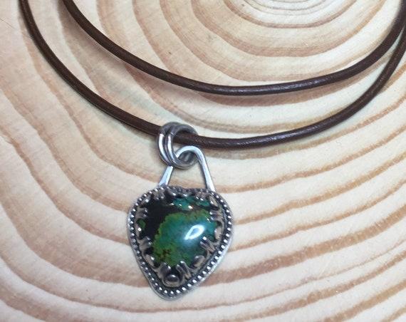 Hubei Turquoise Heart necklace
