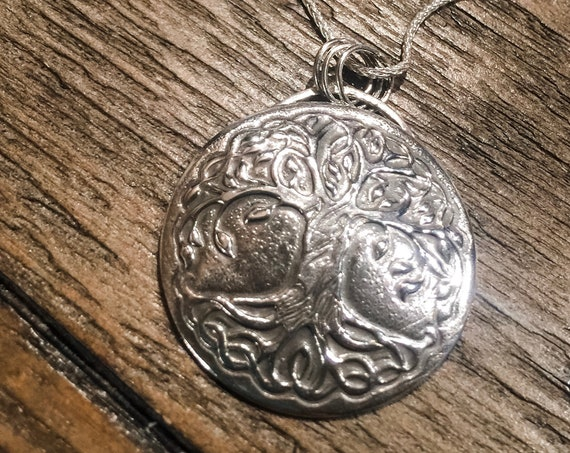 Celtic Tree of Life Silver Necklace