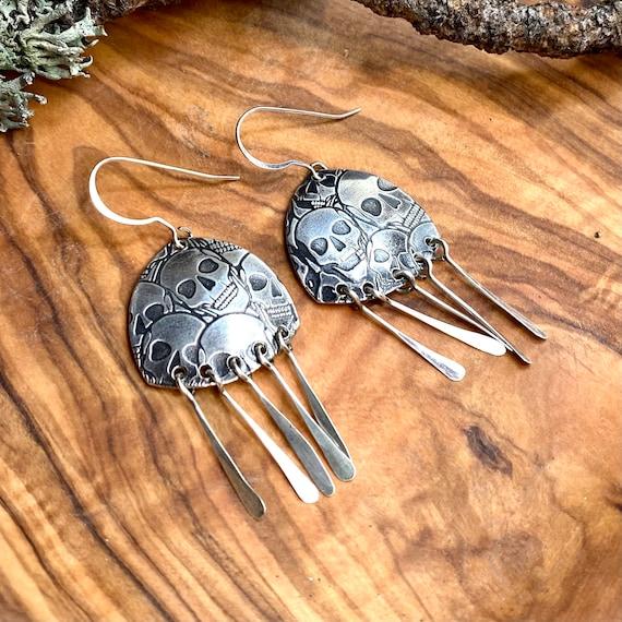 Sea of Skulls Earrings