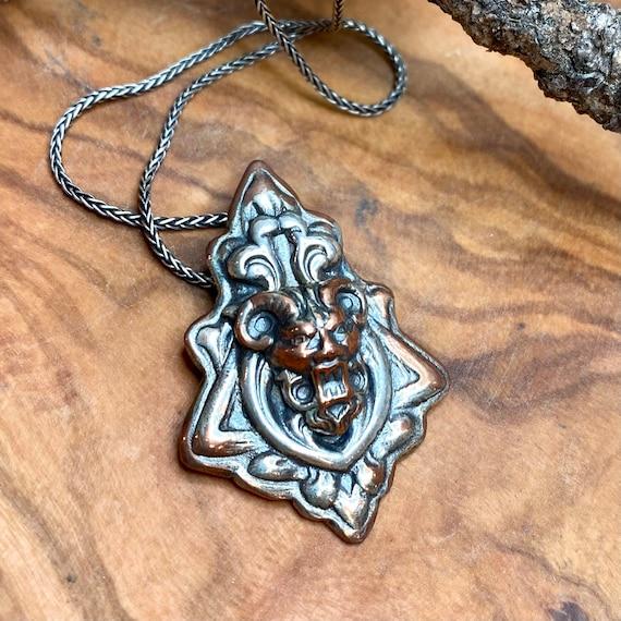 Awesome gothic gargoyle pendant