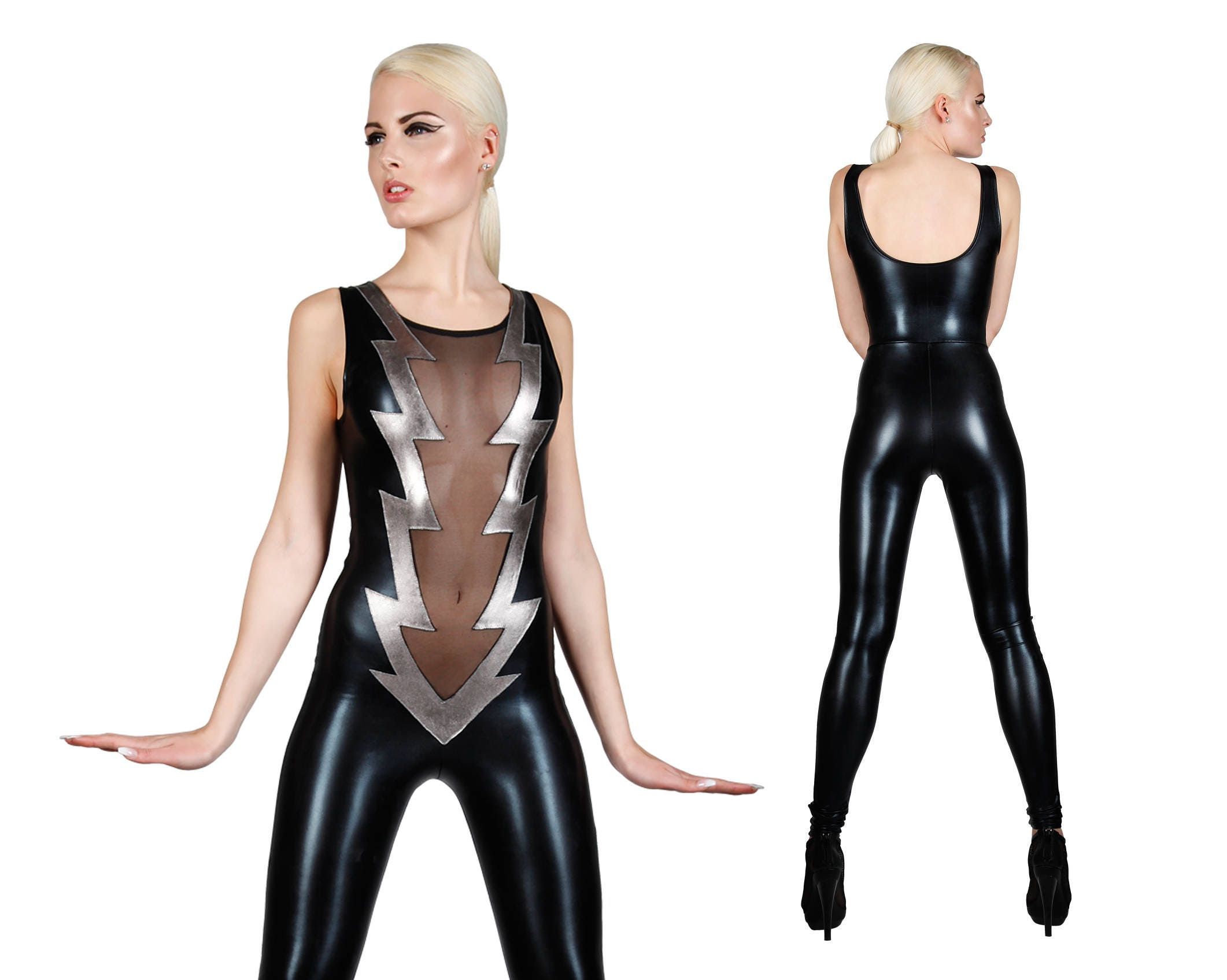 Blitz-Bolzen-Catsuit Sexy Overall David Bowie   Etsy