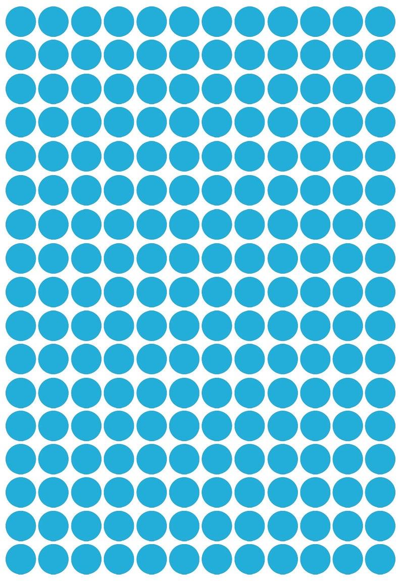 Cardmaking crafting Each 1.5cm Wide Self Adhesive 204 x polka dot spot Shape Vinyl Stickers Scrapbooking