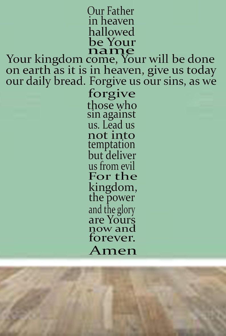 d96c4174f5d5 La oración del Padre nuestro versión contemporánea Christian