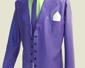 Latex Suit, 4 Piece Latex Cosplay Suit