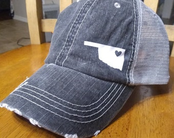 621cdc1f2 spain oklahoma trucker hat 01e09 08003