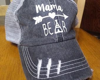 d9b5e1070aa mama bear trucker hat