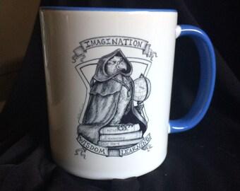 Wizarding Mascots Series: Eagle of Wisdom Mug