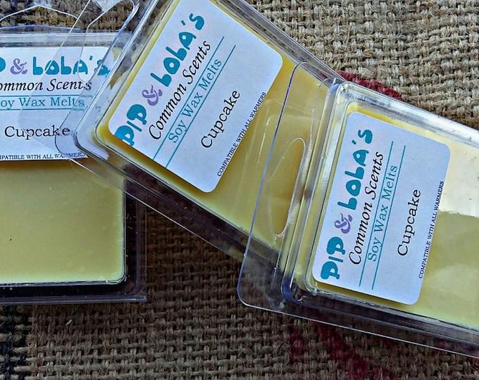 Cupcakes Wax Melt - Pip & Lola's Common Scents - Soy Candle Wax, Wax Tarts