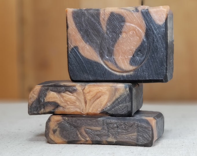 "Vanilla Chai Scented ""Kate The Shrew"" Soap Goddess Loves Shakespeare Soap, vegetarian, lightly scented, yogurt soap, free shipping"