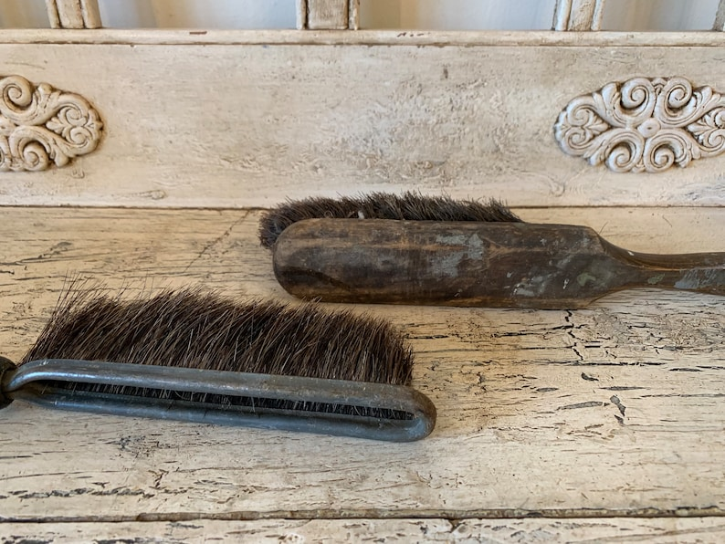 Instant Collection of Rustic Wood 2 Wooden Workshop Drafting Brushes Woodworking Brushes